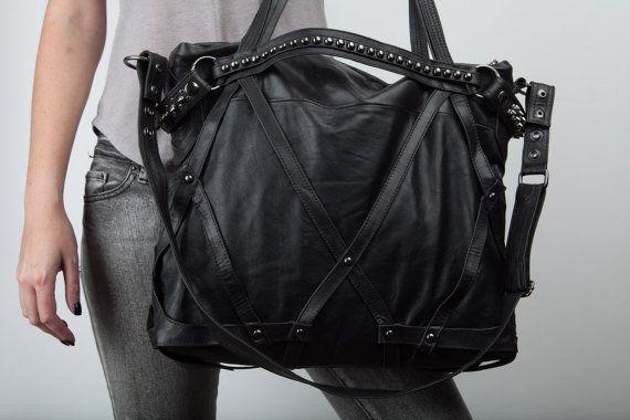 Rage Cage Laptop purse bag by JungleTribe on Etsy, $414.00
