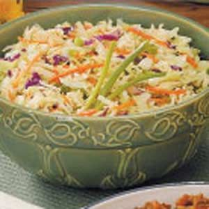 Tangy Cabbage Slaw Recipe-This was WONDERFUL! Loved the taste of the ...