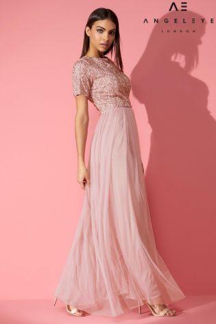 acb45062aee348 Angeleye Embellished Maxi Dress   Wedding   Dresses, Prom dresses ...