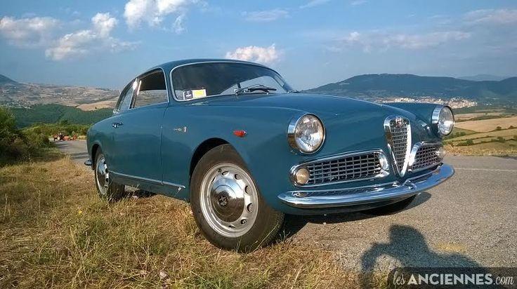 je vends : ALFA ROMEO GIULIETTA SPRINT 1300  année: 1960  entièrement restaurée.  état concours.  couleur rare  tornade bleue   tous les numéros correspondant  prix négociable  la voiture es...
