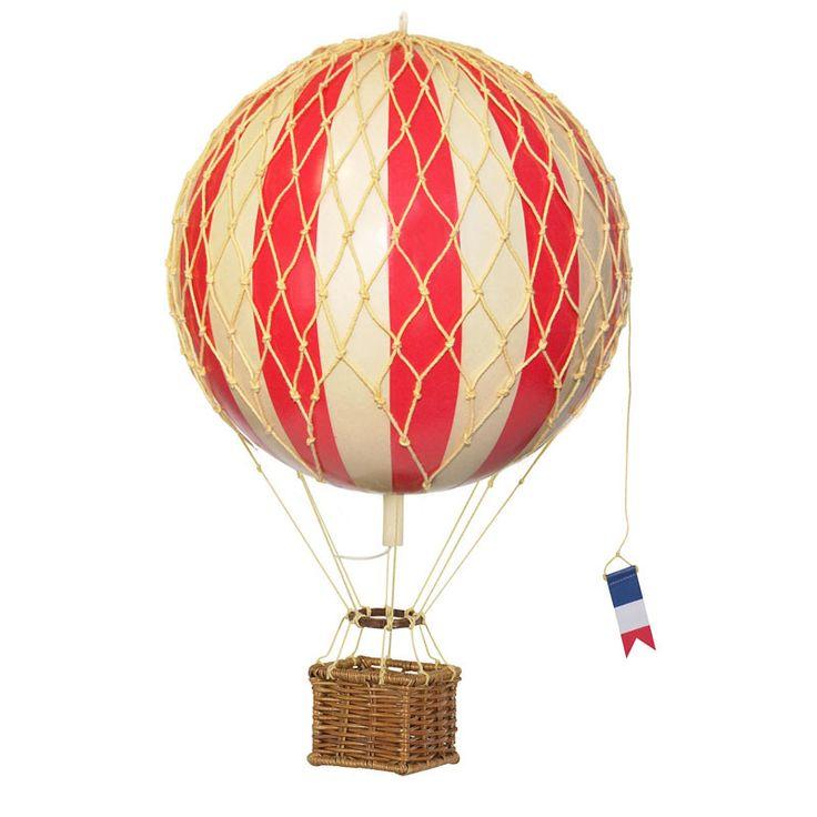 Luftballon, rød - 18 cm | LirumLarumLeg