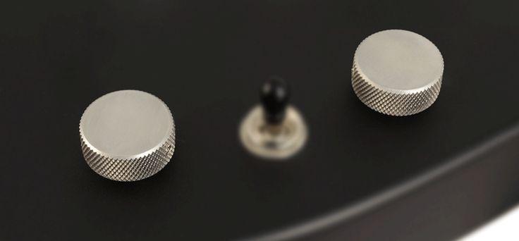 Upgrade with Custom Hardware Controls MA - Volume and Tone