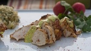 Peruvian Garlic-Lime Chicken with Spicy Mayonnaise and Cilantro Rice