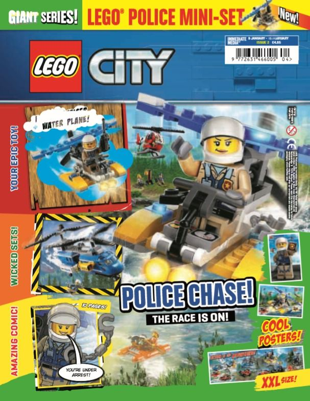 LEGO Giant Series - City 2 in 2019 | Mags Direct Magazines