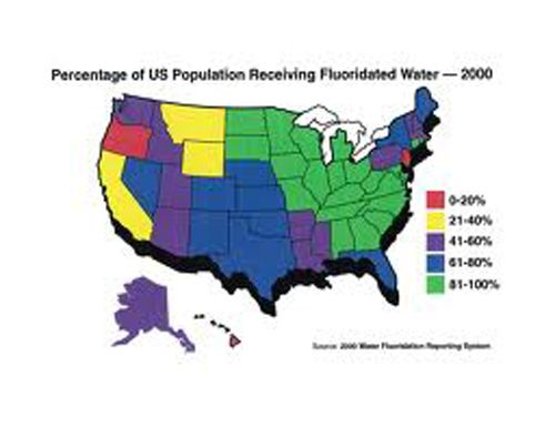 Best Fluoride Dangers In Drink Water Images On Pinterest - Sodium fluoride drinking water mapping in the us