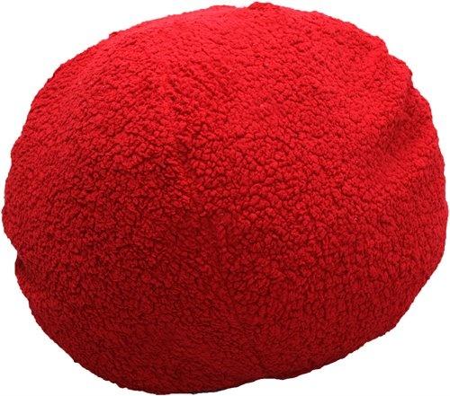 Newco Sherpa Red Bean Bag   Free Shipping