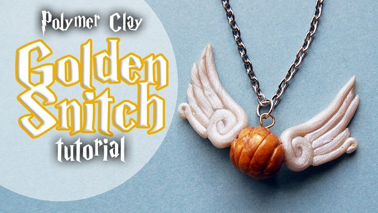 Tutorial: Golden Snitch charm from Harry Potter