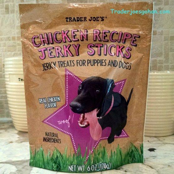 Trader Joe's Chicken Recipe Jerky Sticks 6oz $1.99 トレーダージョーズ チキンレシピ ジャーキースティック