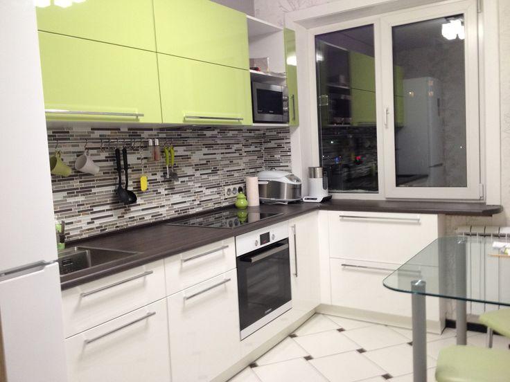 Интерьер кухни 9 кв.м в панельном доме - фото, дизайн, идеи | Феломена