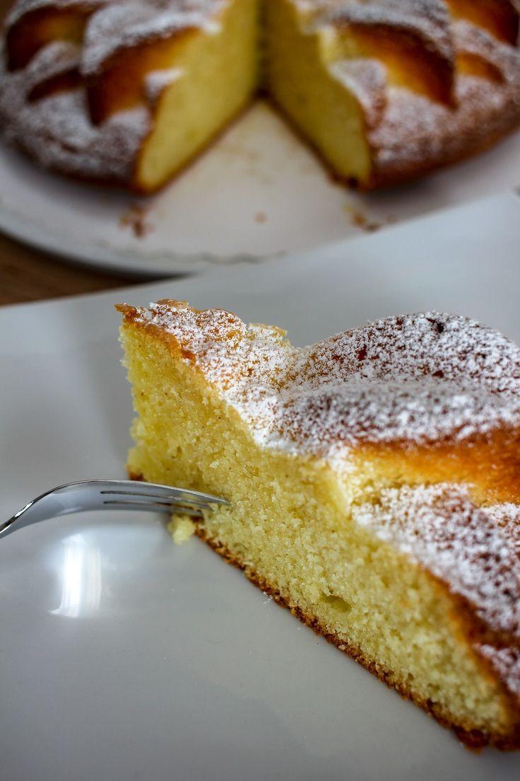 Rührkuchen mit Quark – lecker und saftig, schnell serviert! – backen