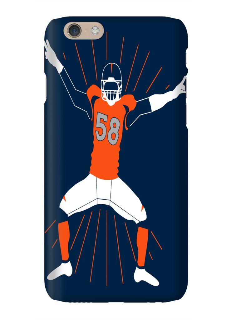 Von Miller Sack Dance Denver Football Phone Case