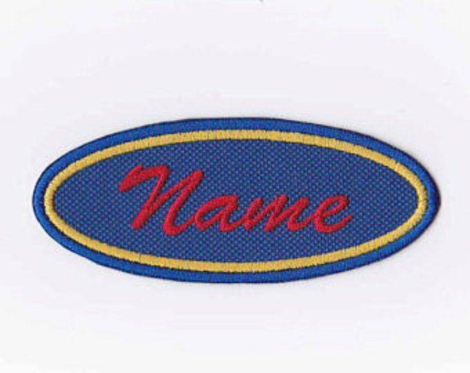 What's in a name? Everything! Names, team names, motorcycle groups, company names, labels - the possibilities are endless! These custom name patches the perfect addition to your jacket, hat or backpack. The embroidered name patch will look great on any article of clothing! Personalize your leathers, luggage and more with quality, custom patches.  The patches pictured are 1.5 X 4 inches, but if you need a different size or color, message me. I use durable polyester canvas and polyester…