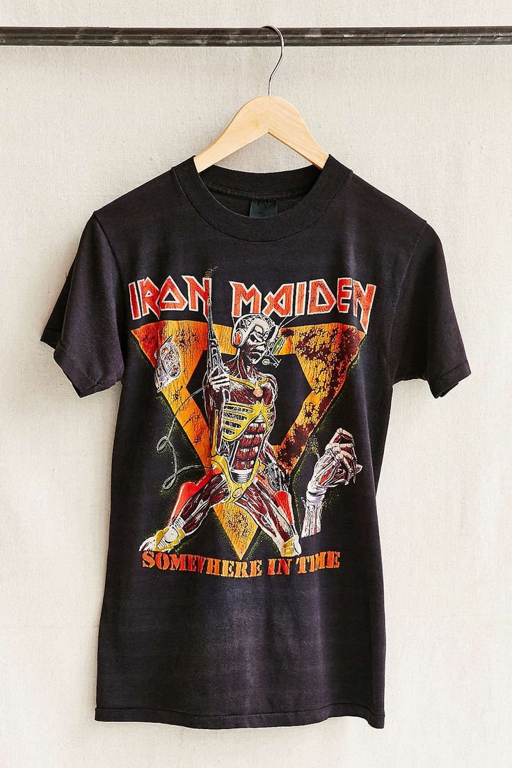 Vintage Iron Maiden Tee - Urban Outfitters
