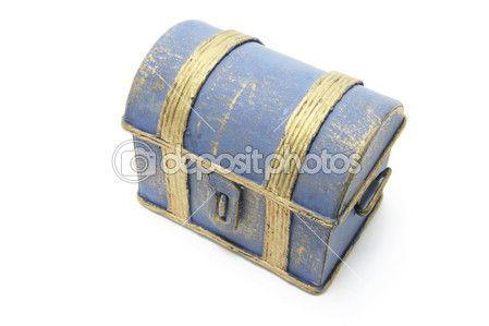 Ξύλινο σεντούκι του θησαυρού — Φωτογραφία Αρχείου © newlight #3259608