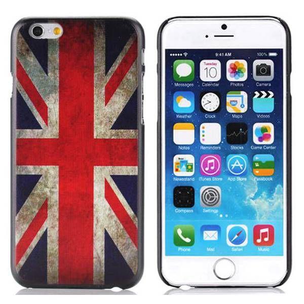 Britse vlag hardcase hoesje voor iPhone 6 Plus