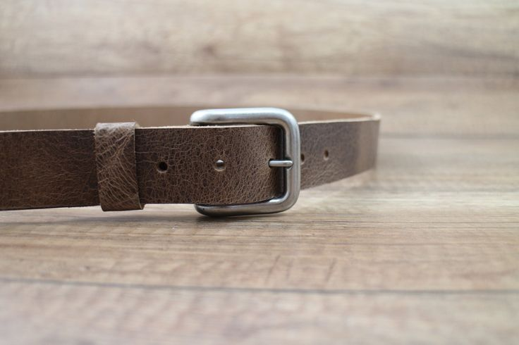 A personal favorite from my Etsy shop https://www.etsy.com/ca/listing/244448445/leather-belt-brown-buffalo-belt-unisex
