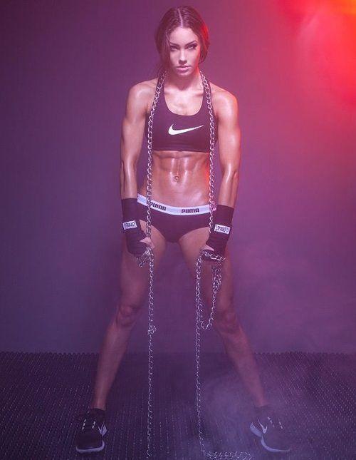 SOUND: http://www.ruspeach.com/en/news/2128/ следить за фигурой [slidìt' za figùraj] - keep one's figure, keep fit быть в хорошей форме [byt` v kharòshej fòrmi] - to be in a good shape делать физические упражнения [dèlat` fizìchiskije uprazhnèniya] - to do physical exercise / work out ходить в спортзал [khadìt` v sportzàl] - to go to the gym заниматься бегом [zanimàtsa bègam] - to go jogging заниматься йогой [zanimàt`sya yògaj] - to do yoga делать вдох [dèlat` vdo