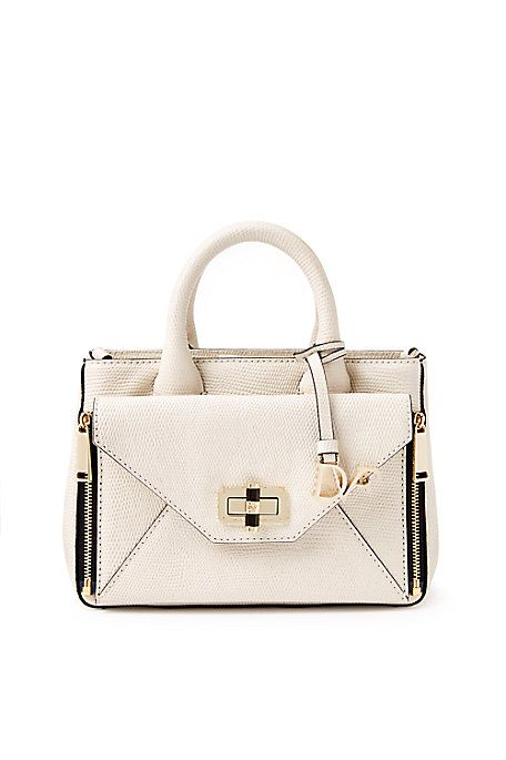 Mini Secret Agent Shimmer Leather Tote   Landing Pages by DVF
