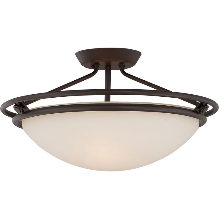 off fixture western bronze three light semi flush fixture by quoizel h d steel material medium base bulb not supplied western bronze finish