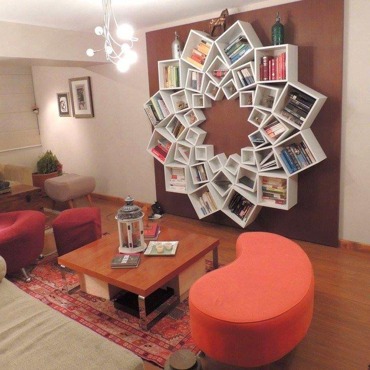 20 Creative Bookshelf Designs