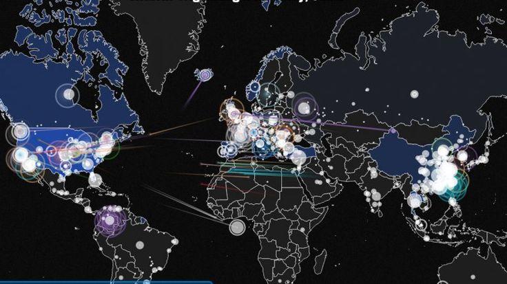 El mapa del día: los países con más ataques cibernéticos | EEUU, Ciberataque, Internet - América
