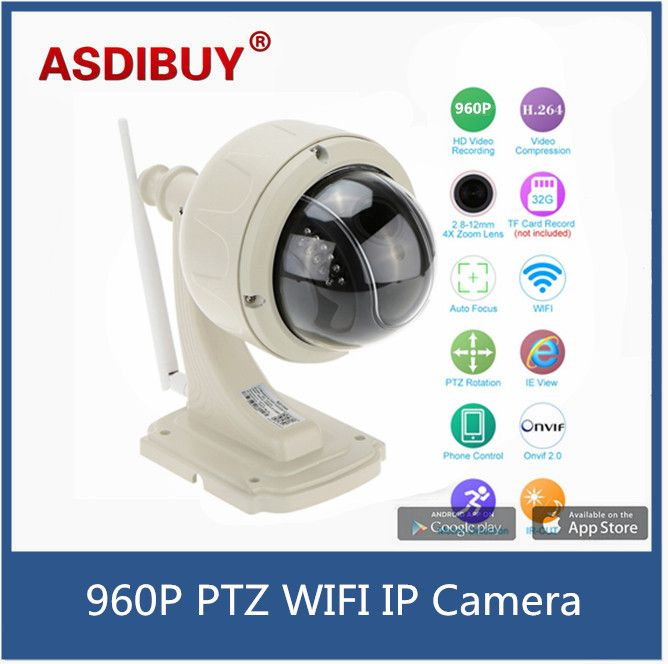 Real 960P 1.3MP Waterproof Wireless WiFi IP Camara Outdoor PTZ dome Security kamera 2.8-12mm Autofocus 4X zoom Home surveillance  EUR 70.70  Meer informatie  http://ift.tt/2t9CebP #aliexpress