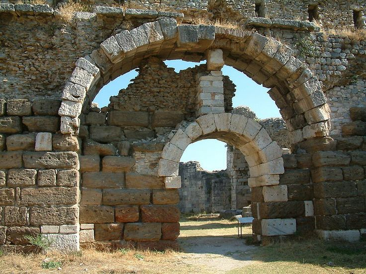 Baths of Faustina - Milet Turkey