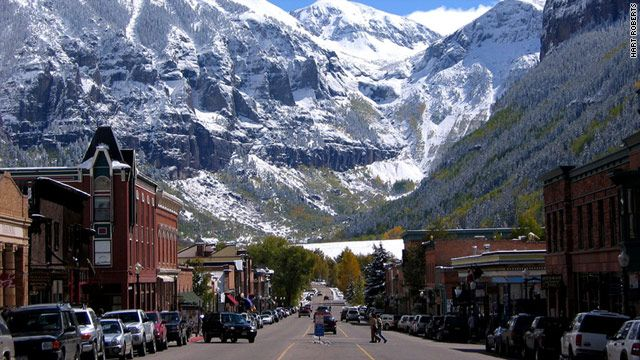 7 underrated ski resorts telluride colorado copper for Best colorado mountain towns to live