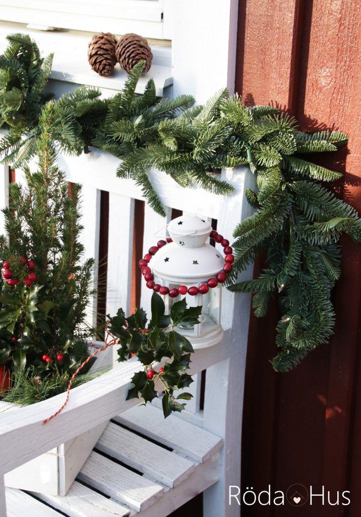 #outside #christmas #balsamhill #tannengrün #jul #winter