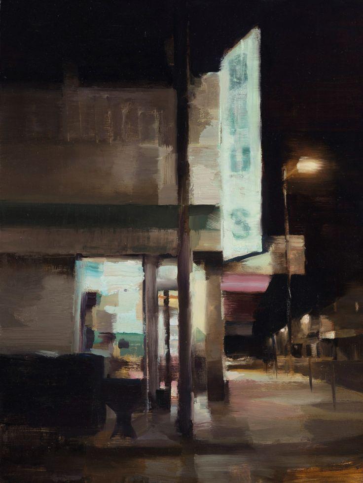 San Francisco-based painter Kim Cogan explores the vanishing architecture of the city's streets.