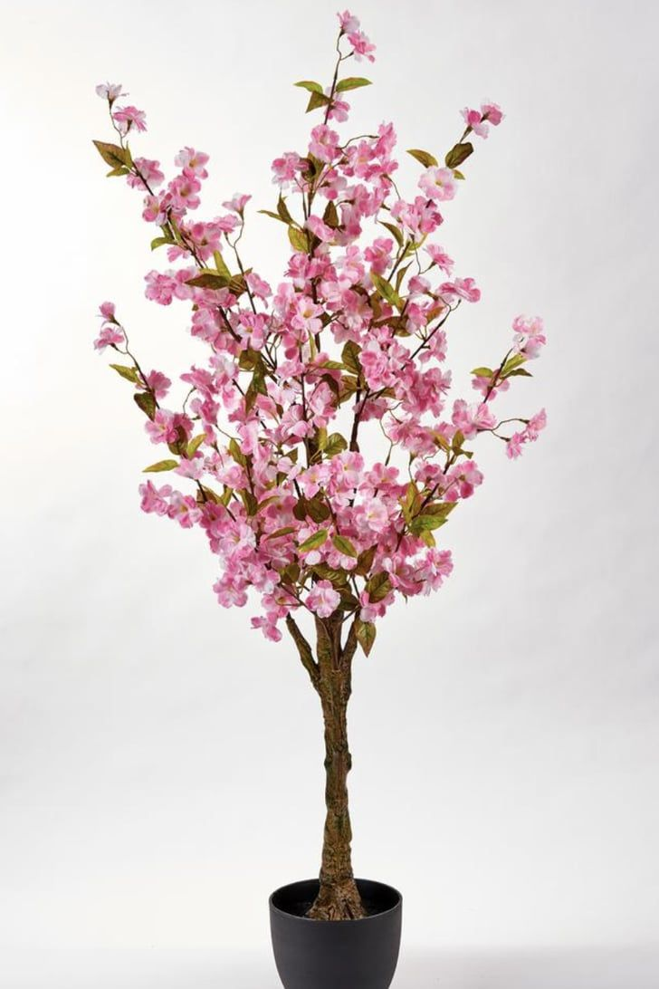 Home Depot Is Selling Cherry Blossom Trees For As Low As 39 So We Ll Take 2 Cherry Blossom Tree Artificial Cherry Blossom Tree Blossom Trees