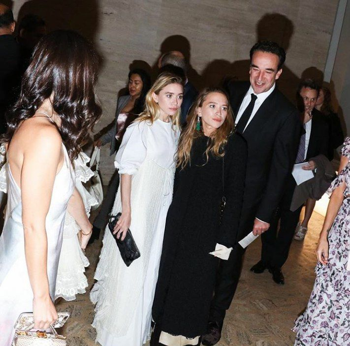 Ashley, Mary-Kate, and Olivier attending Youth America Grand Prix's 2017 Gala at the Lincoln Center in NYC on April 13, 2017