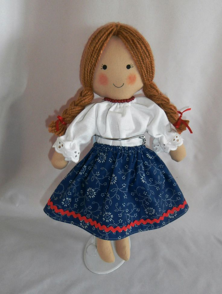 Katica, Hungarian cloth doll