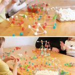 STEM Activity: Gum Drop Engineering I did this with CCD school-agers using marshmallows.  They loved it!