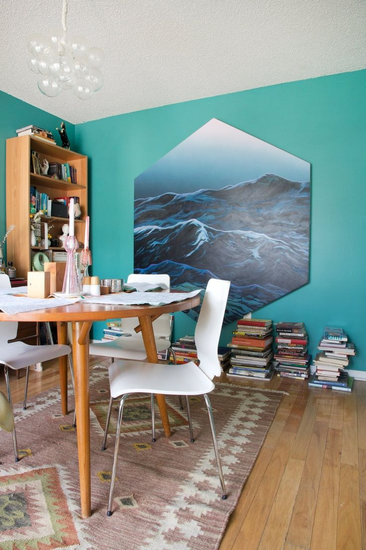 Laura & Ray's Art-Filled Austin Home » Look at that artwork! So cool!
