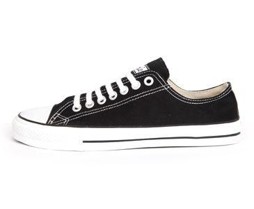 Etiko low cut black and white - $90