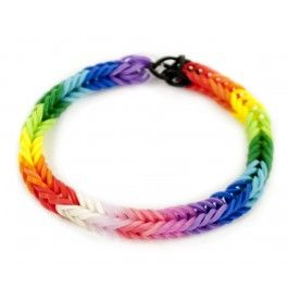 Fish Tail Stretch Band Bracelet - for Caitlin