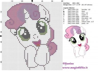 Schema punto croce dolce Sweetie Belle (my little pony) 60x68 9 colori.jpg