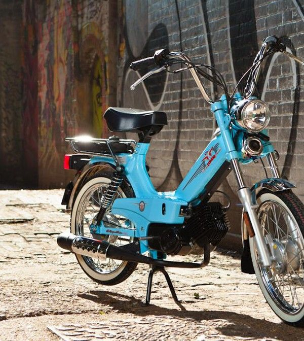 Tomos Classic XL Moped | Mopeds and Cafe racing