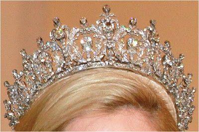 The Royal Order of Sartorial Splendor: My Ultimate Tiara Collection: Queen Sophie's Diamond Tiara