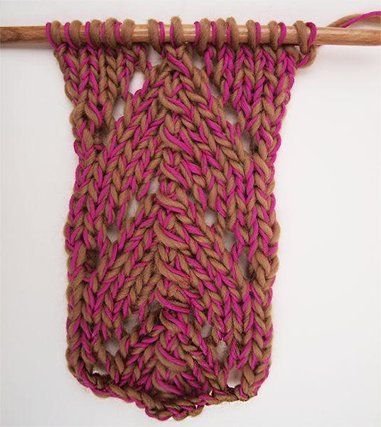 Salut knitters!Aujourd'hui nous allons apprendre comment tricoter le point de dentelle magique.Il y a différent types de points dentelés mais celui-ci apportera de la lumière et du style à votre vêtement WAK. Le point dentelle est très apprécié pour ces ajourassions et est également très populaire chez les knitters. De la nouveauté dans vos créations… De quoi plaire à plus d'une...!Ce point magique dentelé est facile à tricoter et rends très bien.Maintenant, nous allons combiner les points…