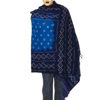 Indian Wear Tie Dye Scarf Shawl Fashion Clothing Anniversary Gift 35 X ...