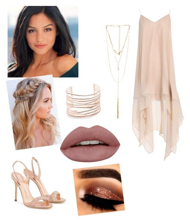"""Untitled #378"" by queen-olmos on Polyvore featuring Vivis, Haute Hippie, Alexis Bittar, Giuseppe Zanotti and Ettika"