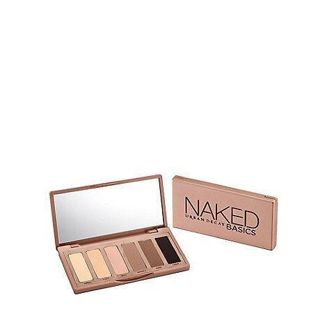 Urban Decay Naked Basics eye shadow palette | Debenhams
