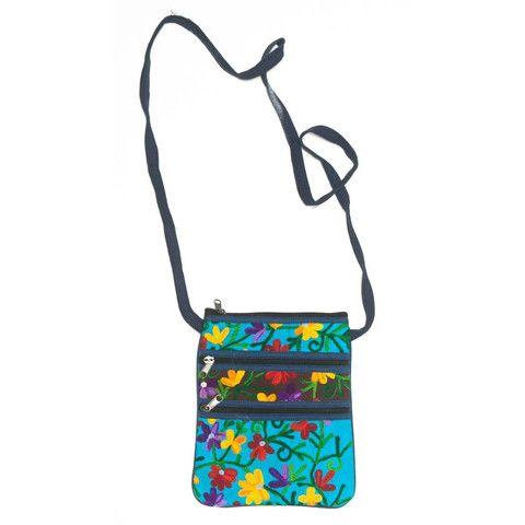 Flower Purse/Passport Bag