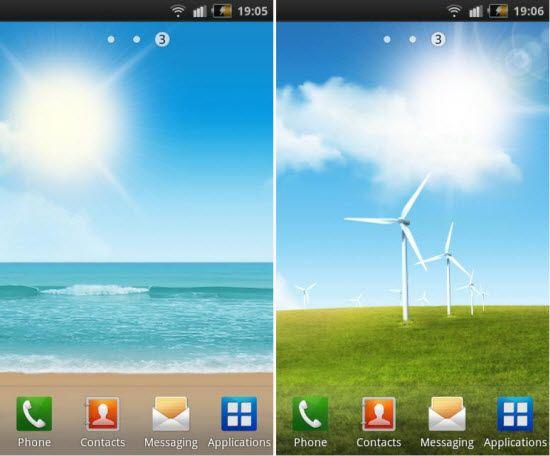 Live Wallpaper for Samsung Galaxy - WallpaperSafari