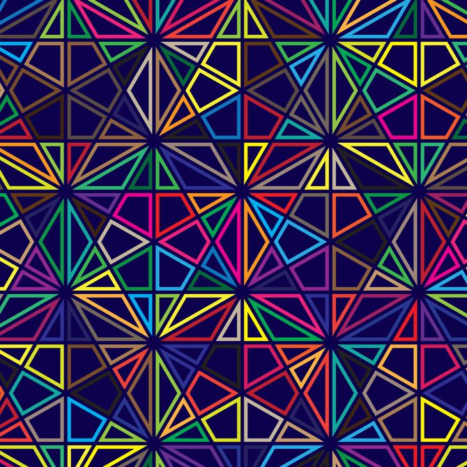 91 Best Images About Geometric Patterns On Pinterest