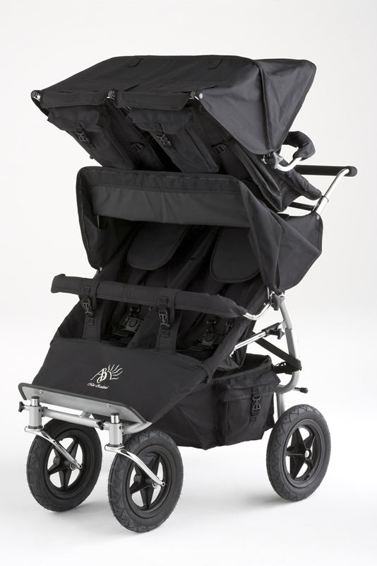Pram/Stroller -- ABC Adventure Quad Buggy -- This is the perfect pram to allow parents of quadruplets or four young children the freedom to get out and about with all children safe and comfortable in the ABC Quad Buggy pram. Available in 12 colours.