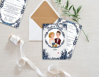 "Check out new work on my @Behance portfolio: ""Wedding invitations - Customized illustration"" http://be.net/gallery/51596095/Wedding-invitations-Customized-illustration"