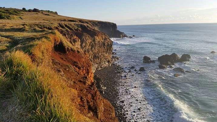 Lennox Head cliffscape